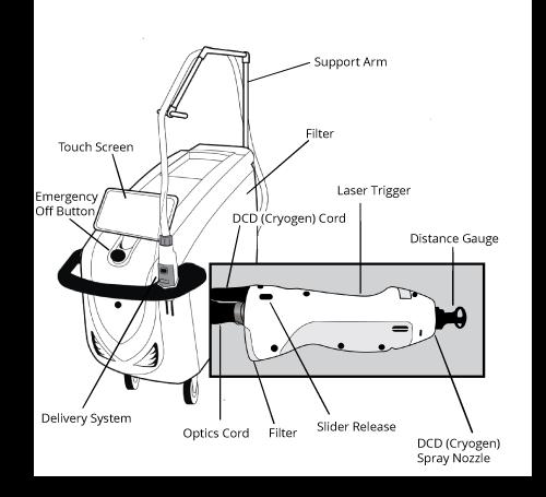 Laser Hair Removal Diagram