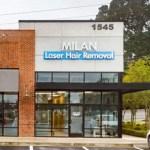 Exterior of Decatur Milan Laser Hair Removal